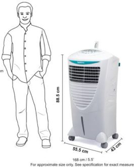 Symphony 31 L Room/Personal Air Cooler  (White, Hicool i)