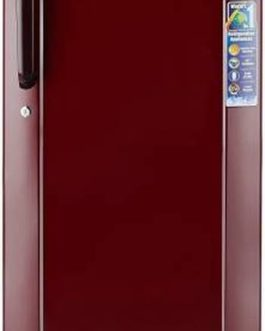Haier 170 L Direct Cool Single Door 3 Star Refrigerator  (Burgundy Red, HRD-1703SR-E)